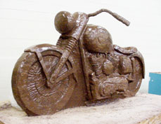 Chocolate 1957 Harley Davidson
